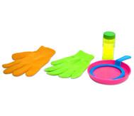 Seifenblasen-Handschuhe