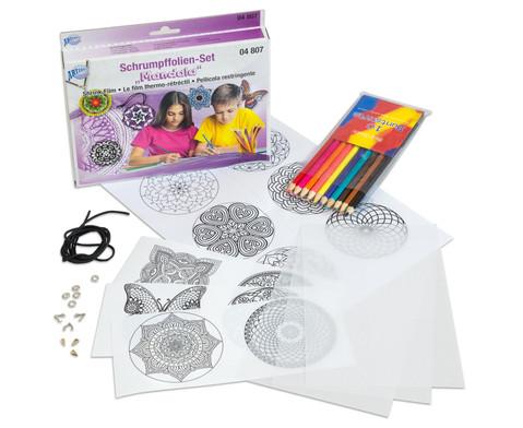 Schrumpffolien-Set Mandala