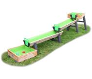 Wasserspielbahn Holz