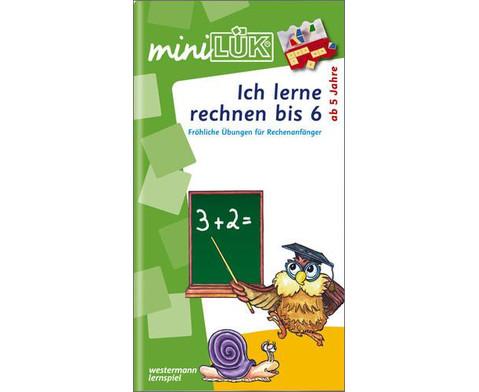 miniLUEK-Heft Ich lerne rechnen 1-1