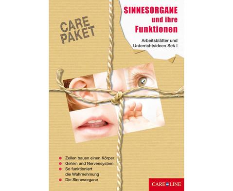 CARE-PAKET Sinnesorgane und ihre Funktionen