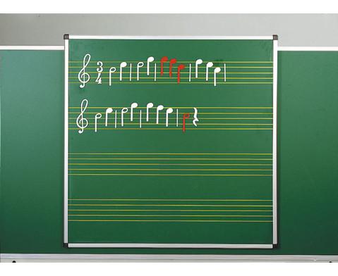 Haft-Notentafeln - Stahl-Emaille-2