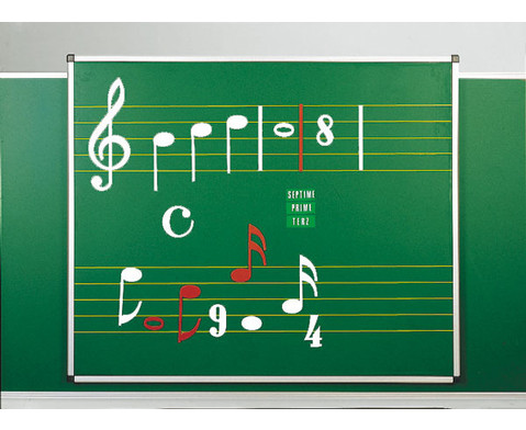 Haft-Notentafeln - Stahl-Emaille-4
