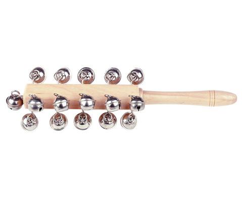 Betzold Musik Schellenstab aus Holz