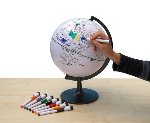Der beschreibbare Globus-1
