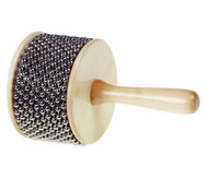 Afuche-Cabasa aus Holz