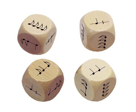 Betzold Rhythmus-Wuerfel-Set