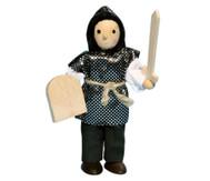 Ritter-Biegepüppchen mit Schwert