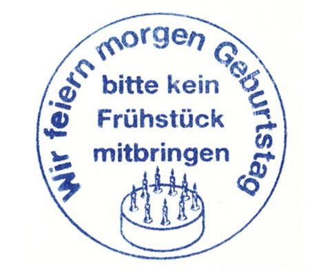 Wir feiern Geburtstag - Stempel-1