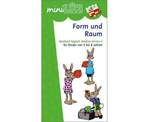 miniLUEK Form und Raum