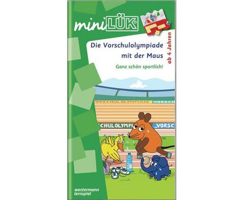 miniLUEK Die Vorschulolympiade mit der Maus 1-1