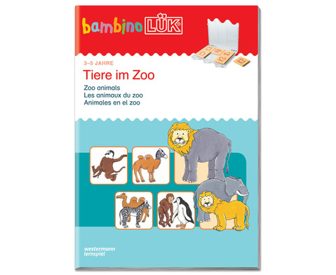 bambinoLUEK Tiere im Zoo