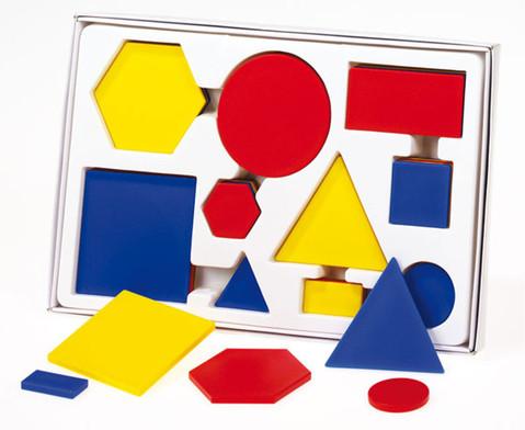 Geometrische Formen aus Kunststoff-1