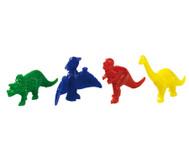 Dinos aus Kunststoff, 128 Stück