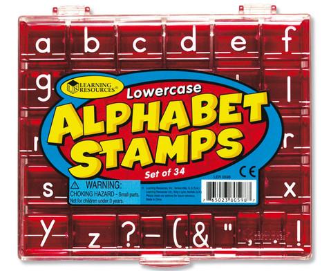 Alphabet-Stempel Kleinbuchstaben