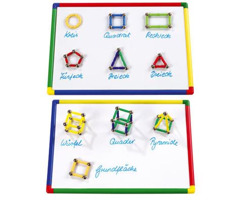 Whiteboard bunt magnetisch 28 x 40 cm-2