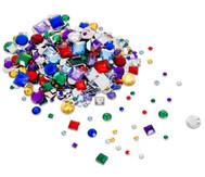 800 Deko-Steine in versch. Farben und Formen