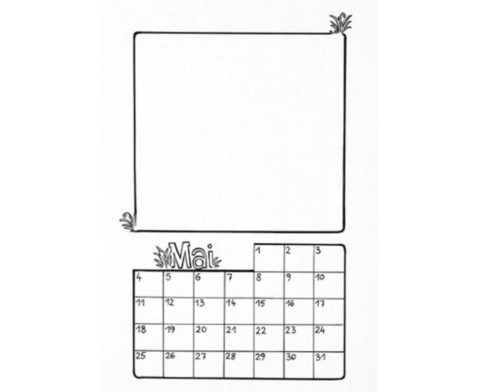Mein Kalender zum Selbstgestalten-4