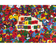 Collage-Buchstaben, 2.000 Stück
