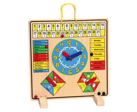 Kalendertafel aus Holz-2