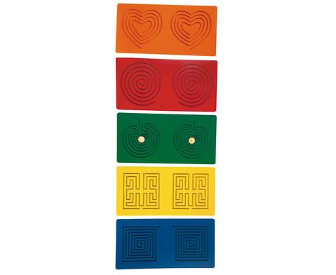 Tandem-Tafeln 5 Stueck