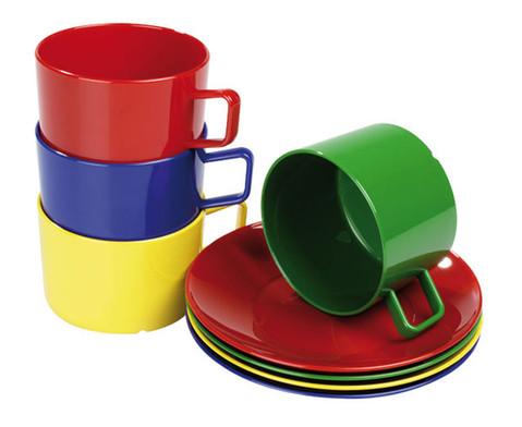 Tasse und Untertasse im Set-1