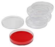 Petrischalen aus Kunststoff, 5 Stück