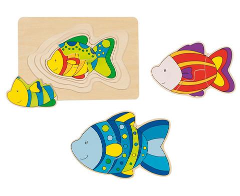 Schichtpuzzle Fisch-1