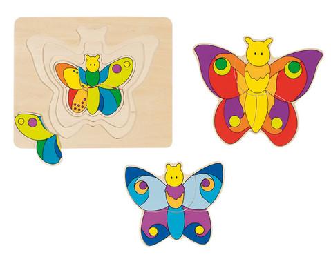 Schichtpuzzle Schmetterling-1