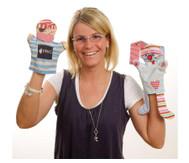 Blanko Handpuppen zum Selbstgestalten, 24 Stück