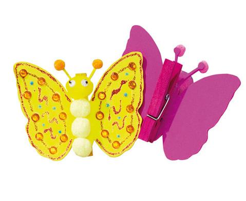Bastelset Schmetterlinge zum Anpinnen-2