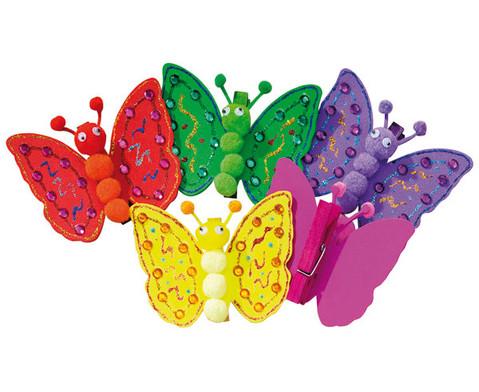 Bastelset Schmetterlinge zum Anpinnen-3
