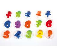 Riesen-Zahlen-Stempel, 15 Stück