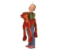 Schlüpfkostüm, Dunkelbraunes Pferd