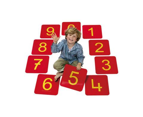 Zahlenfelder von 0 - 20-3