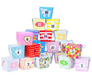 Blanko Boxen, 24 Stück