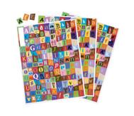 Gestanzte Collage Buchstaben 3 Bögen