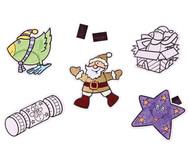 Weihnachtsanhänger, 12 Stück