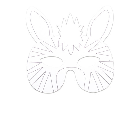 Wilde Tiermasken 8 Stueck-2