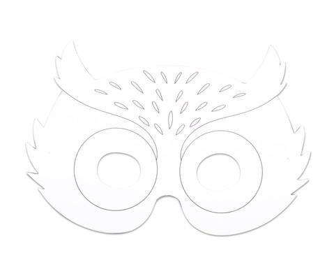 Wilde Tiermasken 8 Stueck-3