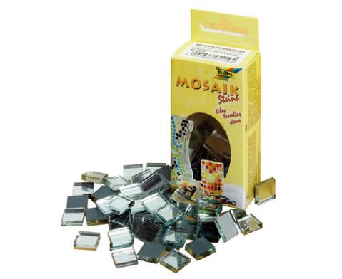 Mosaik-Spiegel-Steine 15x15 mm 200g-2