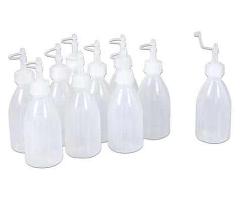 10 Leerflaschen im Set