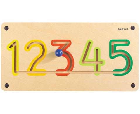 Wandmotorikspiel Zahlen-3