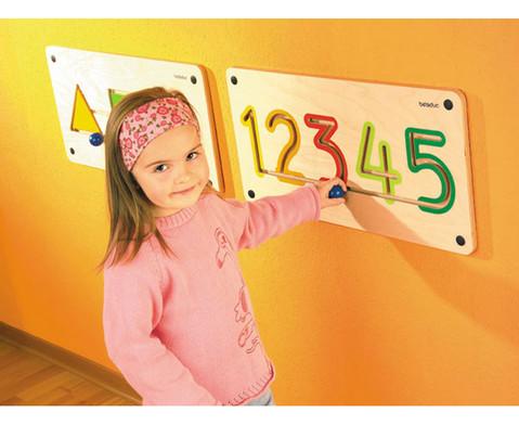 Wandmotorikspiel Zahlen-1