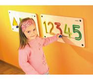 Wandmotorikspiel Zahlen