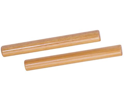 Claves aus hellem Hartholz-1