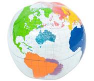 Aufblasbare Weltkugel