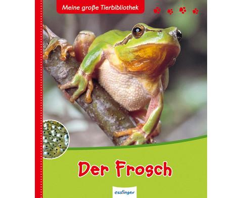 Meine grosse Tierbibliothek - Der Frosch-1