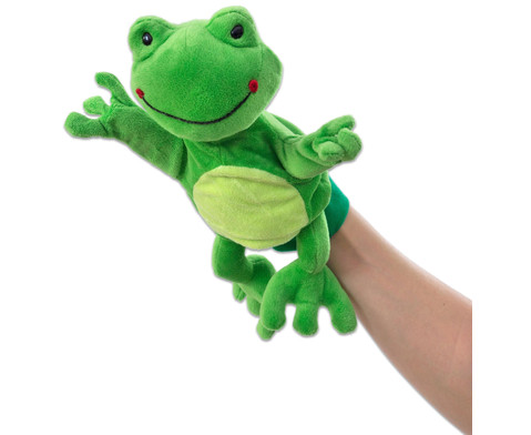 Handpuppe Frosch-2