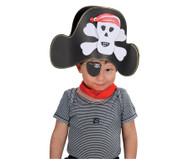 Piratenhut-Bastelset, 8 Hüte